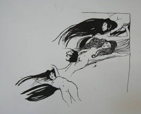 Kurz kresby pro dospělé Praha - studie figury