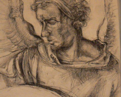 Kurz kresby pro dospělé Praha - studie hlavy, figury