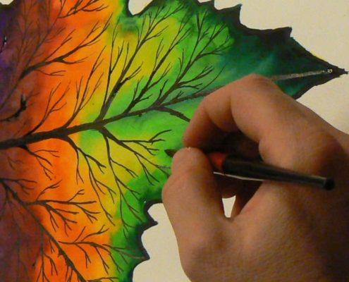 Kurz malování pro dospělé Praha - studie, zátiší