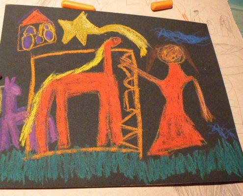 malba děti