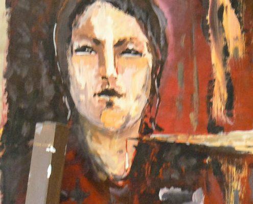 Kurz malování pro dospělé Praha - studie hlavy, portrét