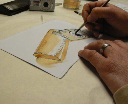Kurz kreslení pro dospělé Praha - studie, zátiší