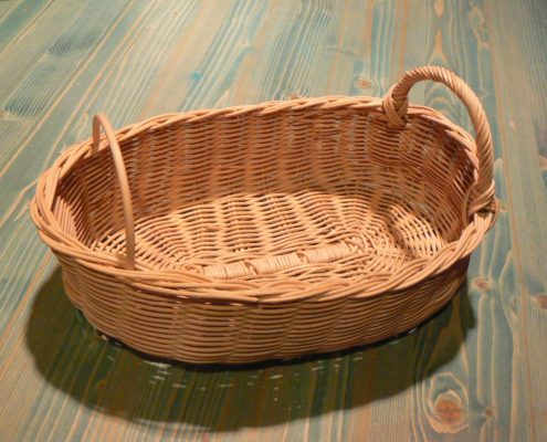 pletené košíky z pedigu