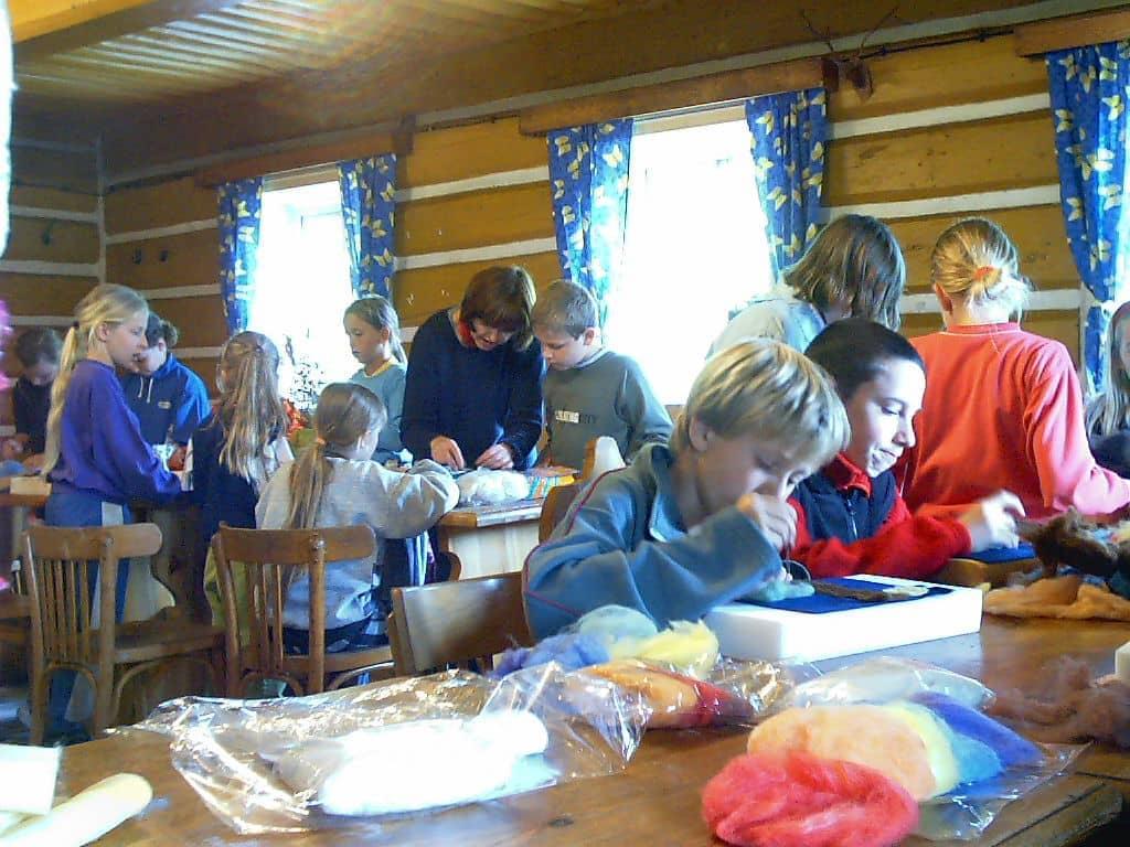 Výtvarka pro děti na táboře