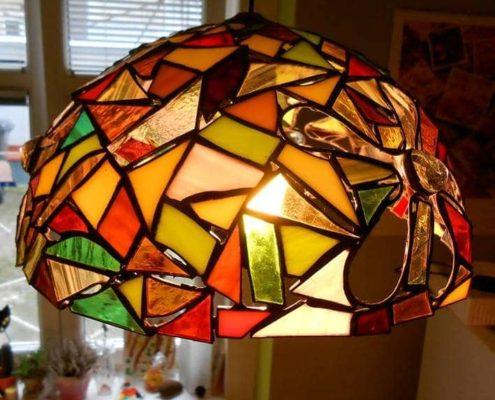 Kurzy Tiffany vitráže pro dospělé Praha 1 - pokročilí
