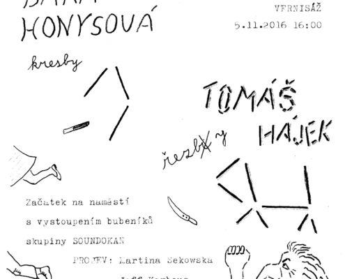 vernisáž Bára kresba malba ateliér ŠUM