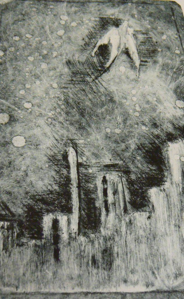 Grafika Linoryt Sucha Jehla Monotyp Lept Atelier Sum