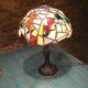 Lampa tiffany vitráž
