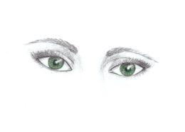 jak se naučit kreslit oči Ateliér ŠUM