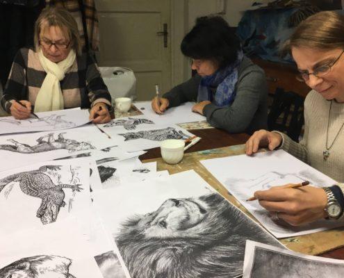 jak nakreslit zvíře