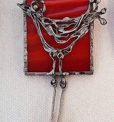 Cínovaný šperk Ateliér ŠUM