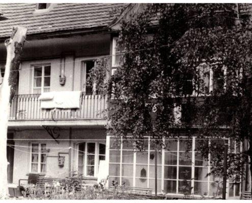historie domu Ateliér ŠUM