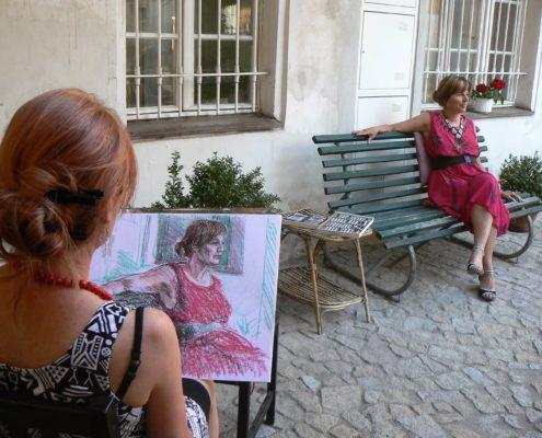 malování kreslení Ateliér ŠUM