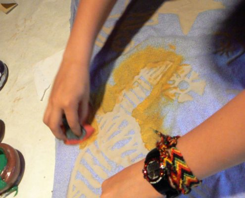 africká batika Ateliér ŠUM