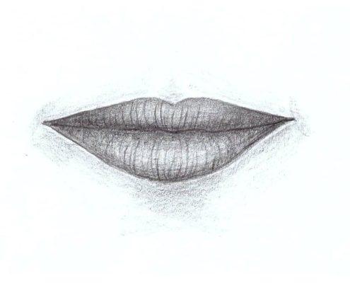 jak nakreslit rty Atelier ŠUM