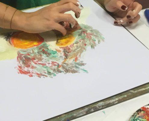Kurz malování Ateliér ŠUM