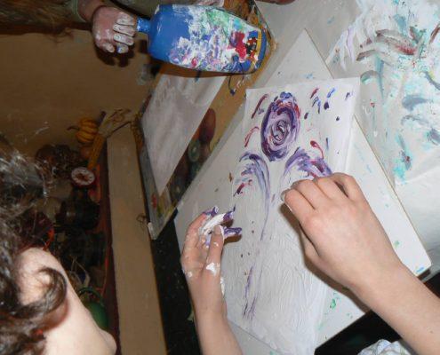 Ateliér ŠUM kurz malování