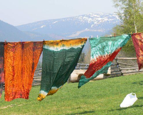 velikonoční výtvarné dílny batika