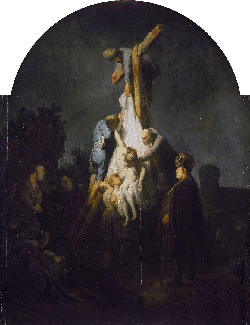 Snímání z kříže