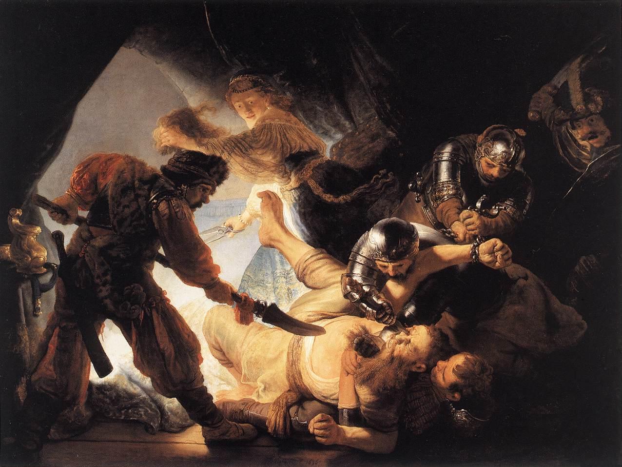Oslepení Samsona