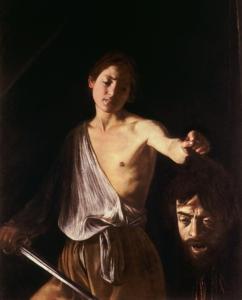 David s hlavou Goliášovou