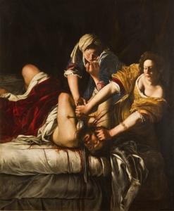 Judita a Holofernes, 1614-20 Artemisia